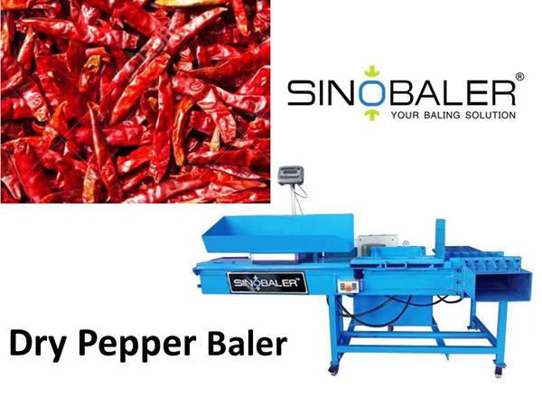 Dry Pepper Baler / Dry Chili Pepper Baler Machine