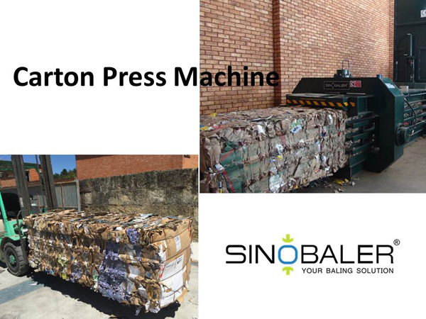 Carton Press Machine