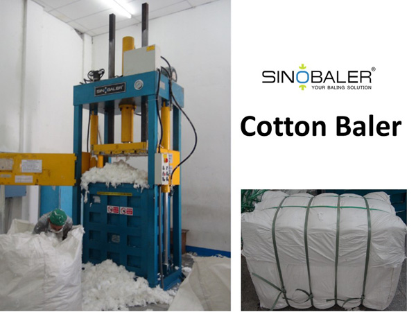 Cotton Baler Machine