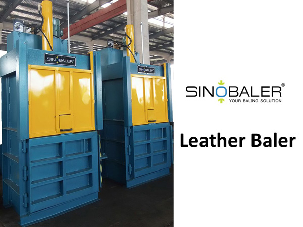 Leather Baler Machine