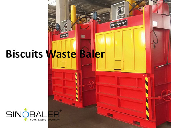 Biscuits Waste Baler / Biscuit Wrapper Baler