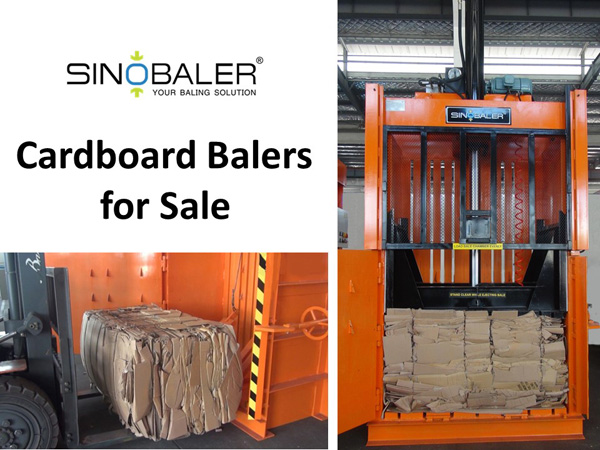 Cardboard Baler for Sale