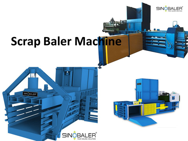 Scrap Baler Machine / Scrap Baling Press Machine