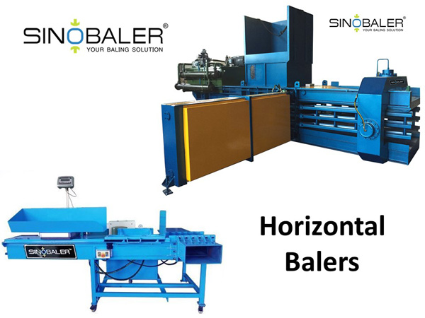 Horizontal Balers / Horizontal Baling Press Machines