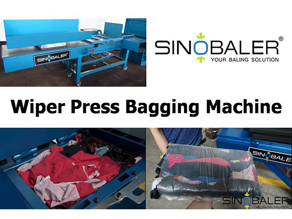 Wiper Press Bagging Machine