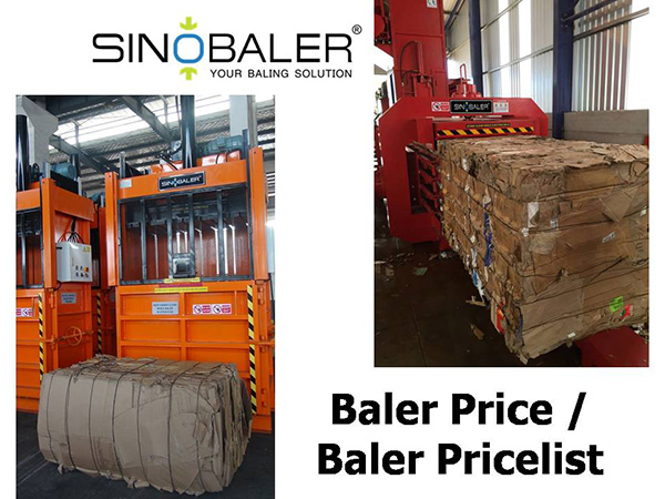 Baler Price / Baling Machine Price