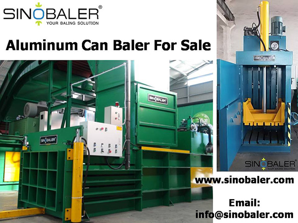 Aluminum Can Baler For Sale