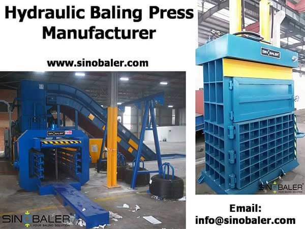 Hydraulic Baling Press Manufacturers