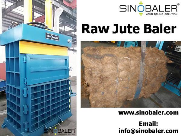 Raw Jute Baler / Jute Fiber Baler