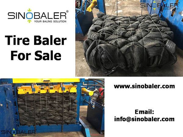 Tire Baler For Sale / Second Hand Tyre Balers For Sale