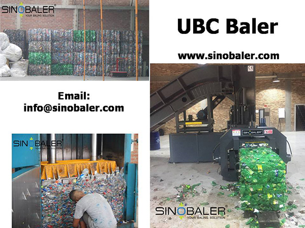 UBC Baler / UBC Can Baling Machine