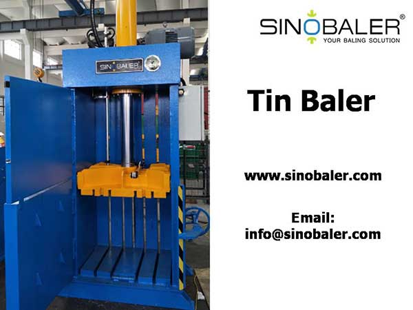 Tin Baler Machine / Tin Cans Baler / Tin Compactor