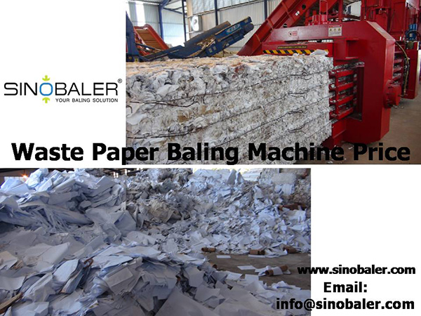Waste Paper Baling Machine Price