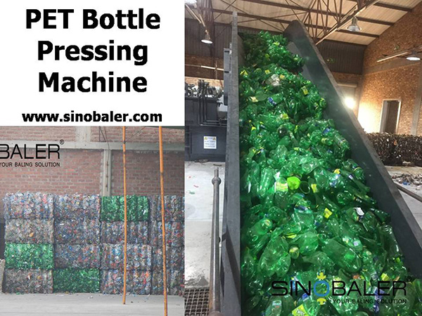 PET Bottle Pressing Machine