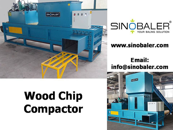 Wood Chip Compactor / Wood Chip Compacting Machine