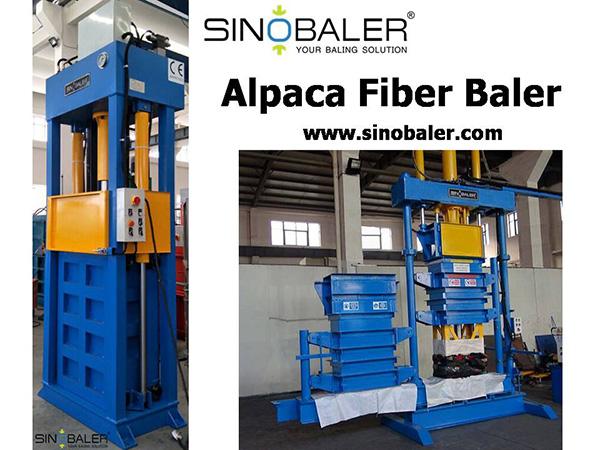 Alpaca Fiber Baler Machine