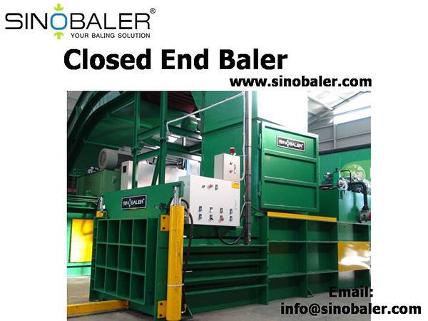 Closed End Baler Machine