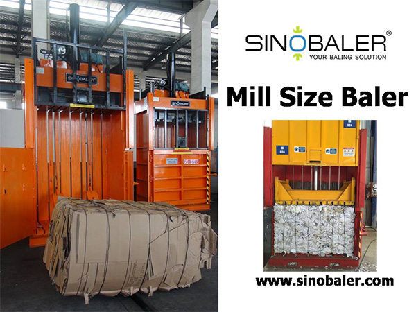 Mill Size Baler Machine