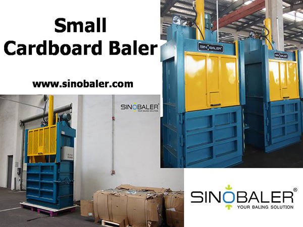 Small Cardboard Baler Machine
