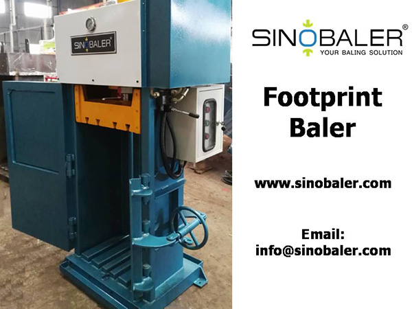Footprint Baler Machine
