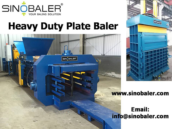 Heavy Duty Plate Baler / Heavy Duty Baler Machine