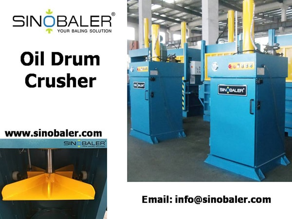 Oil Drum Crusher