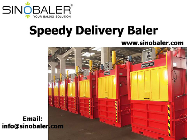 Speedy Delivery Baler Machine