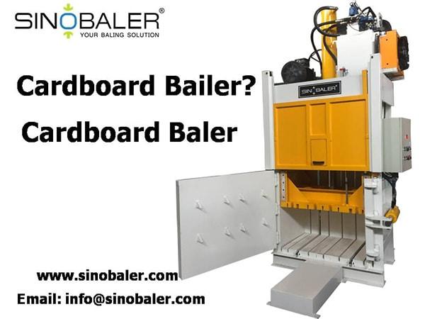 Cardboard Bailers