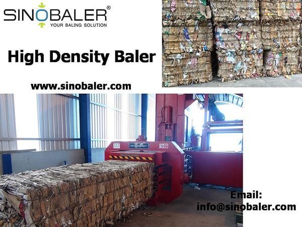 High Density Baler Machine