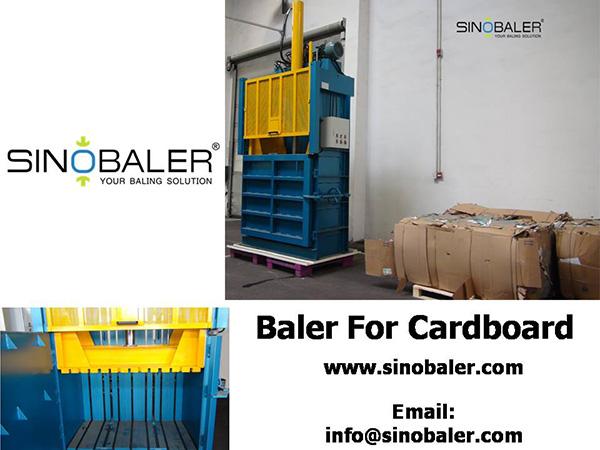 Baler For Cardboard