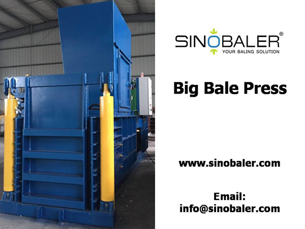 Big Bale Press Machine