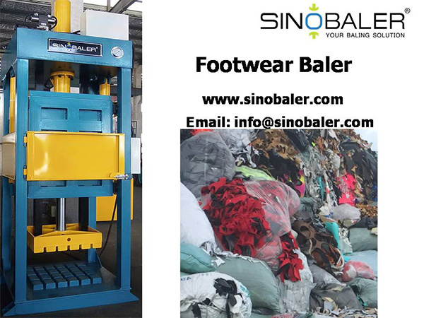 Footwear Baler Machine