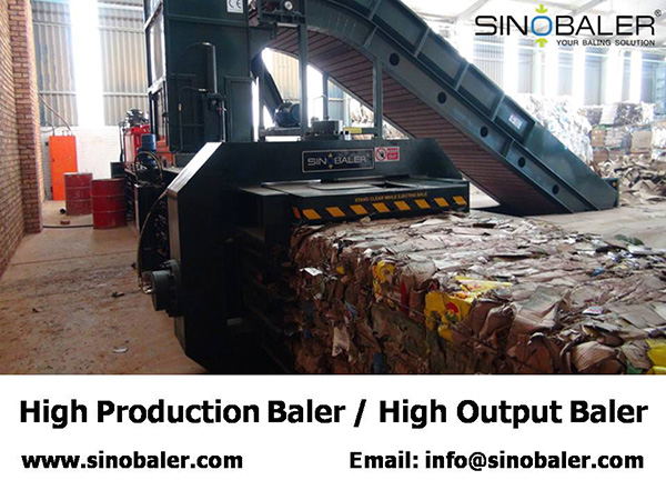 High Output Baler / High Production Baler