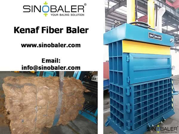 Kenaf Fiber Baler Machine