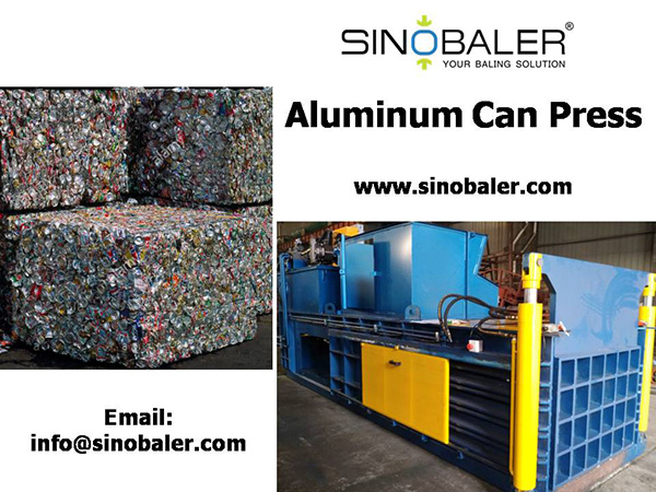 Aluminum Can Press Machine In Aluminum Can Recycling