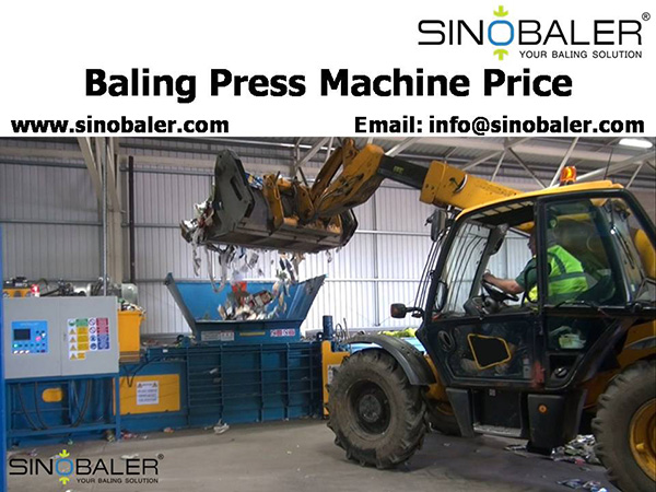 Baling Press Machine Price