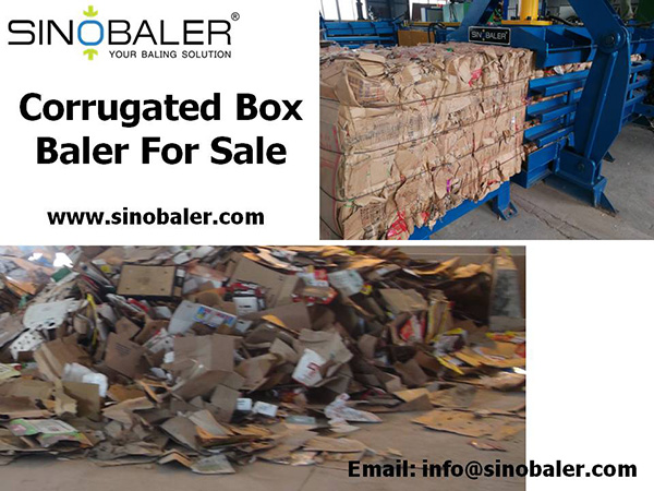 Corrugated Box Baler For Sale