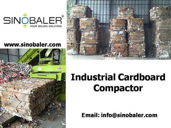 Industrial Cardboard Compactor