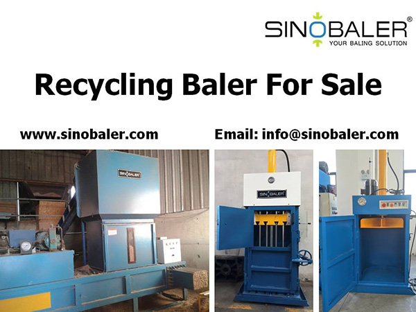 Recycling Baler For Sale
