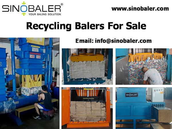 Recycling Balers For Sale