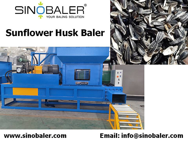 Sunflower Husk Baler / Sunflower Shell Baler