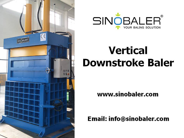 Vertical Downstroke Baler Machine
