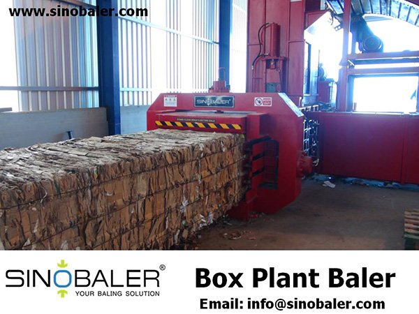 Box Plant Baler Machine