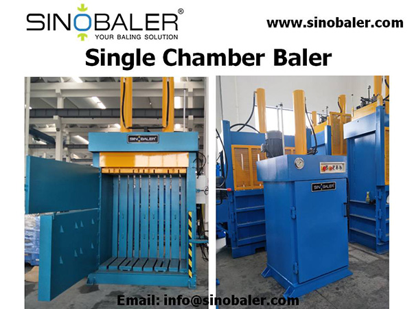 Single Chamber Baler Machine