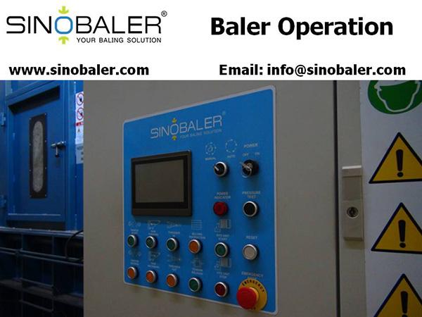 Baler Operation