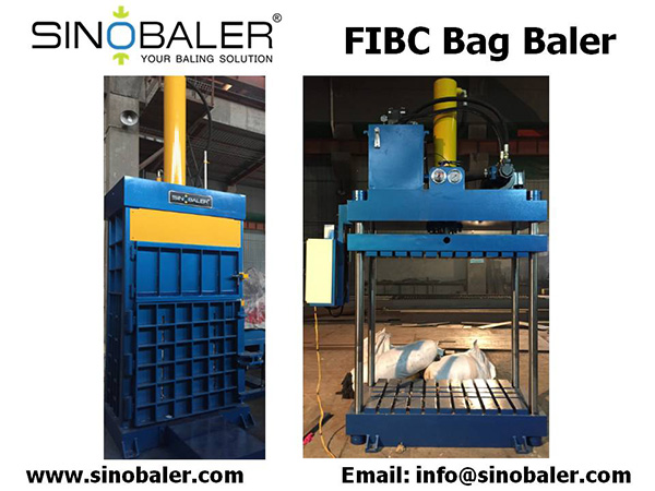 FIBC Bag Baler Machine