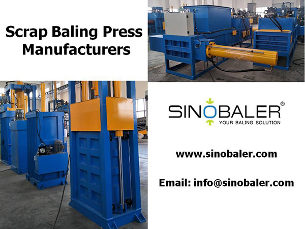 Scrap Baling Press Manufacturers