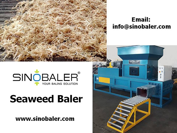 Seaweed Baler Machine