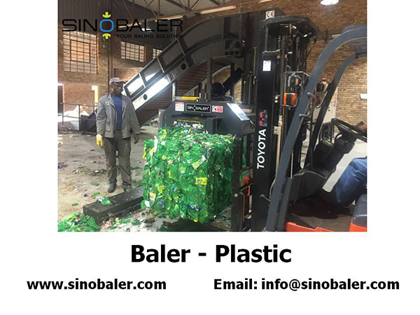 Baler Plastic Scrap