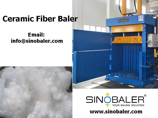 Ceramic Fiber Baler Machine